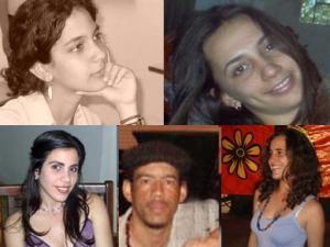 Ibis, Luisa, Nadia, Héctor y Ana Lidia