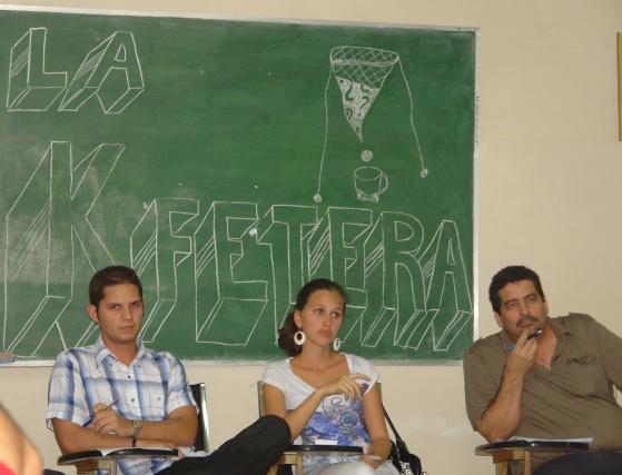 Iroel Sánchez, Harold y María Antonieta