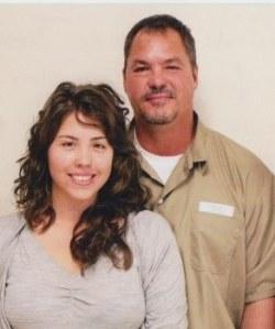 Laura y su papá Ramón Labalino