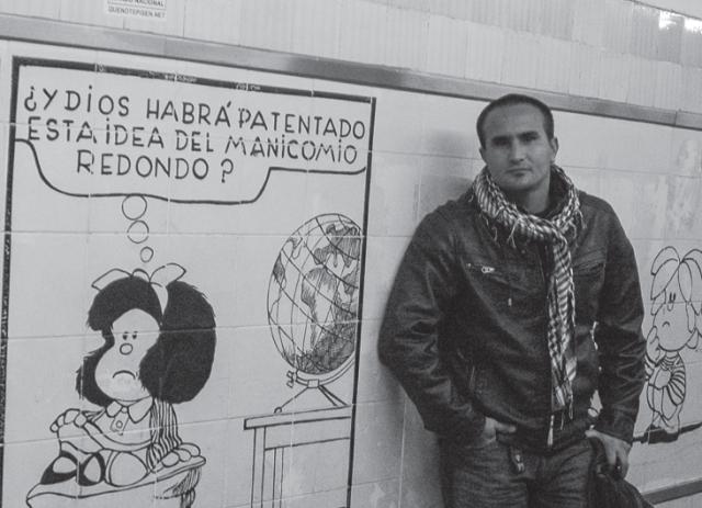 Kaloian Santos Cabrera, entrevistado en Narrar Cuba. Sueno joven de un pais