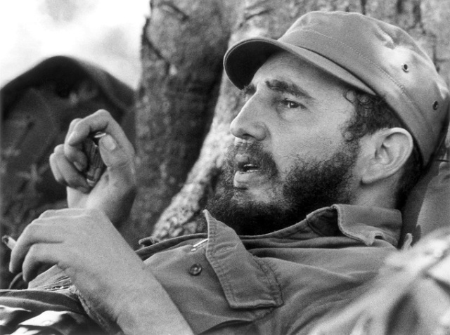Fidel Castro by Korda